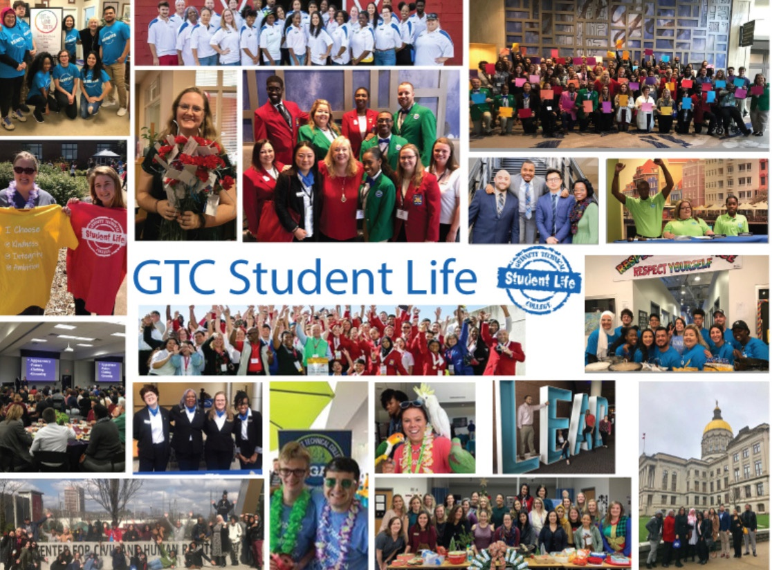 students life collage